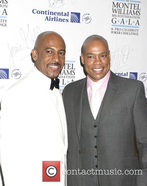 Montel Williams and Harvey Walden The Montel Williams...