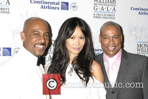 Montel Williams, Audrey Quock, and Harvey Walden The...