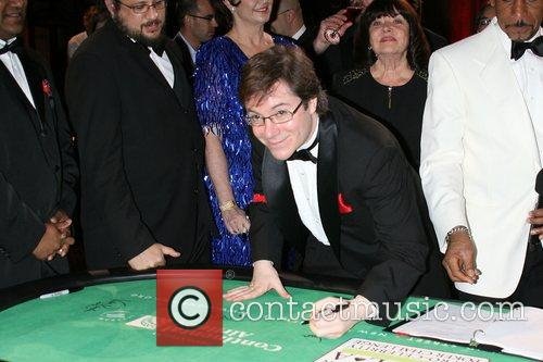 Pro Poker Players Signing of The Poker Table...