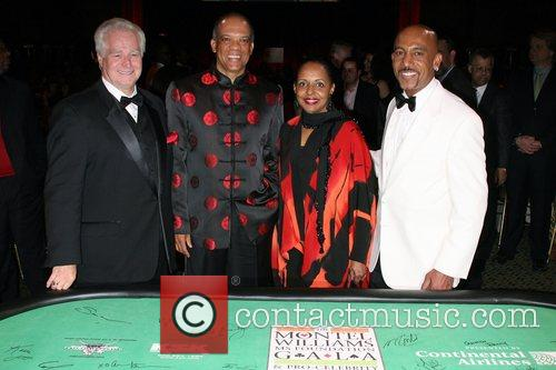 Robert Daily, Dr Ewart Brown, Wife, Montel Williams,...