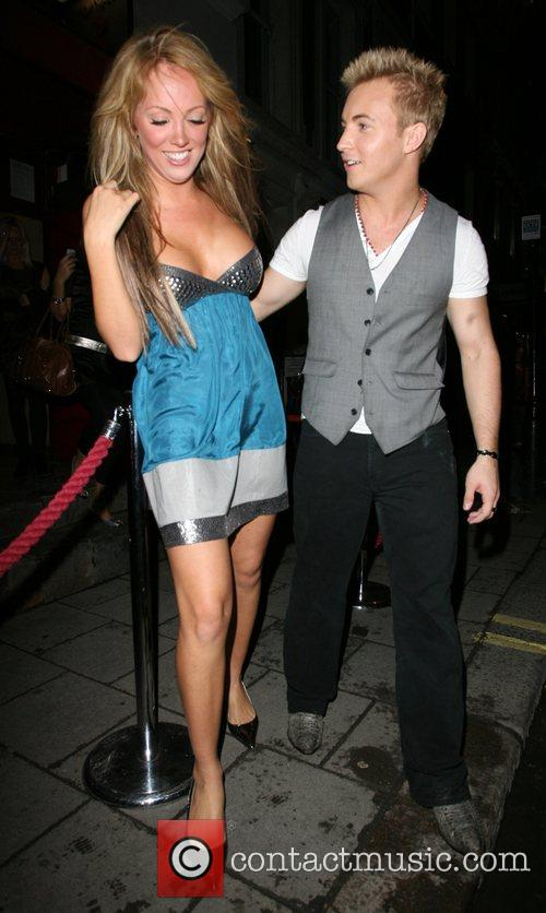 Aisleyne Horgan-Wallace and guest,  More Magazine Party...