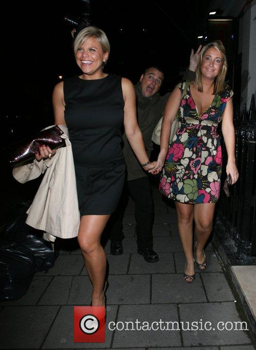 Jade Goody does not realise a photographer is...