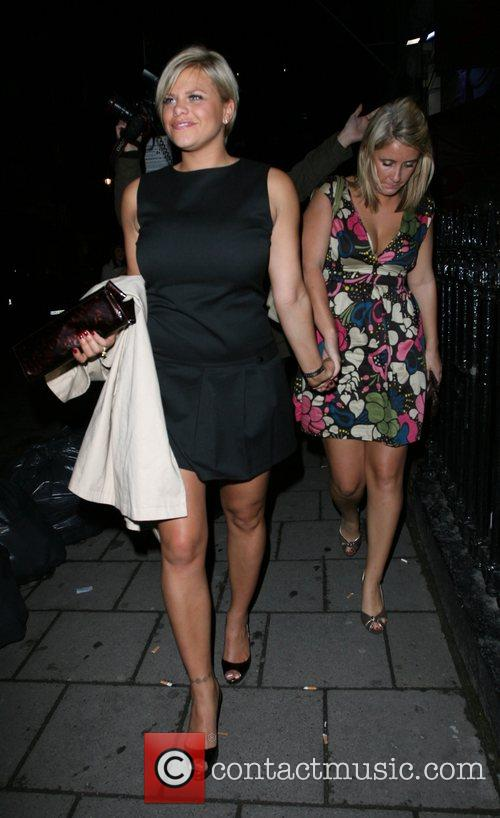 Jade Goody and friend,  More Magazine Party...