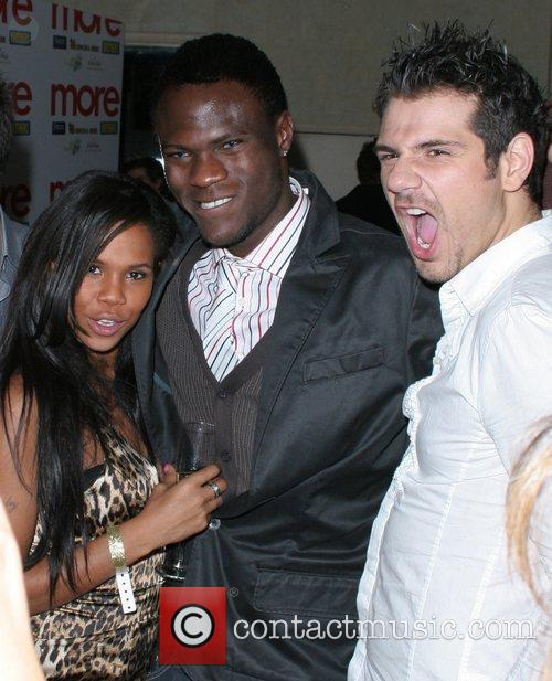 Charley Uchea, Brian Belo and Gerry Stergiopoulos,...