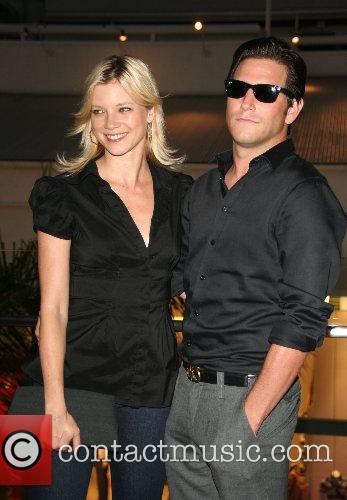 Amy Smart and guest Harry Morton's Pink Taco...