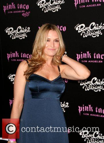 Brooke Muller Harry Morton's Pink Taco Restaurant grand...