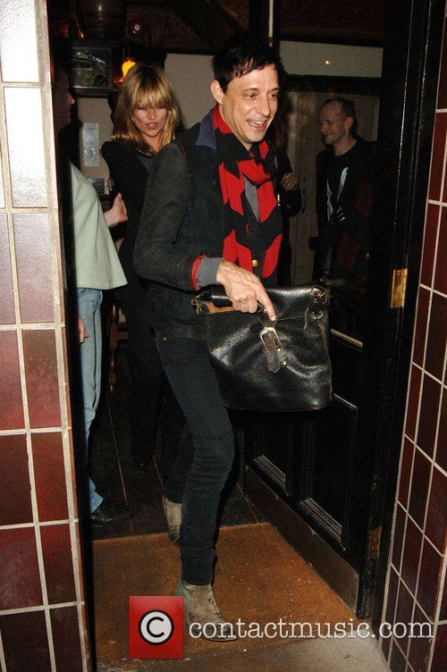 Kate Moss and Jamie Hince watched the 'Michael...