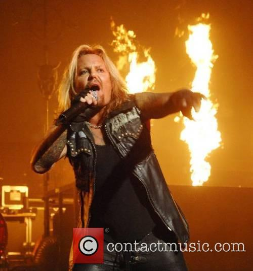 Vince Neil from Motley Crue performing at Hammersmith...