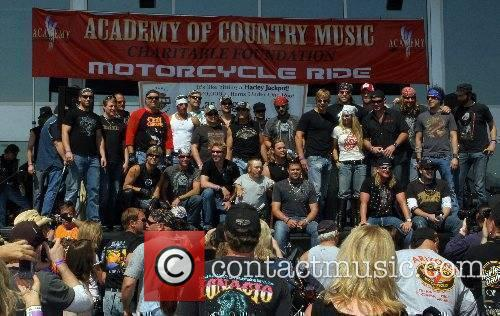 Atmosphere 4th Annual ACM Charity Motorcycle Ride starting...