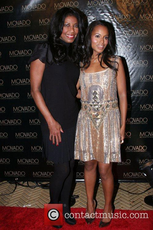 Natalie Cole and Kerry Washington 1