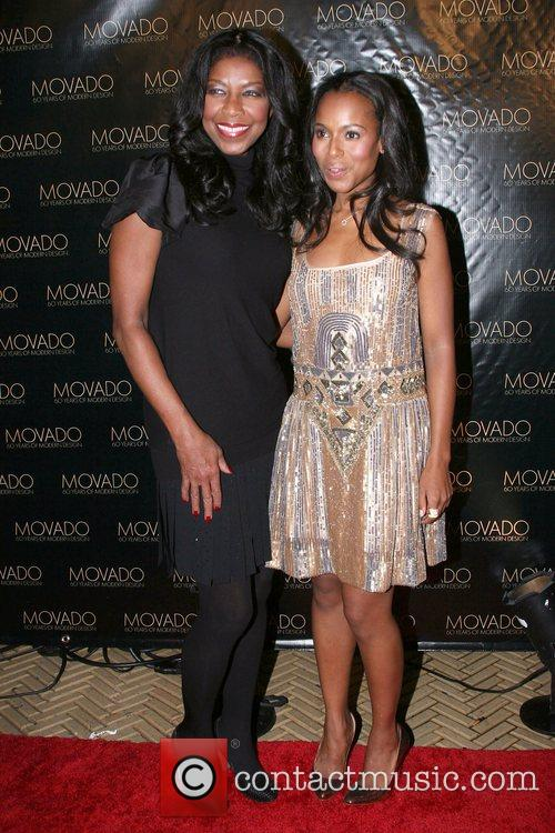 Natalie Cole and Kerry Washington 7