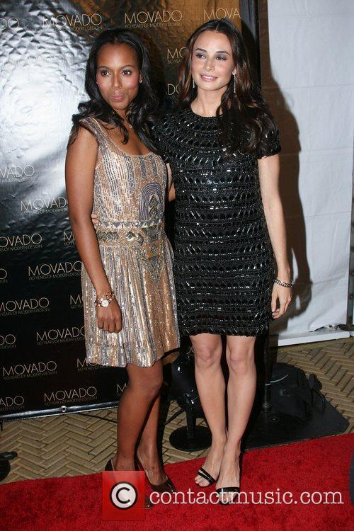 Kerry Washington and Mia Maestro 1