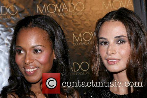 Kerry Washington and Mia Maestro 11