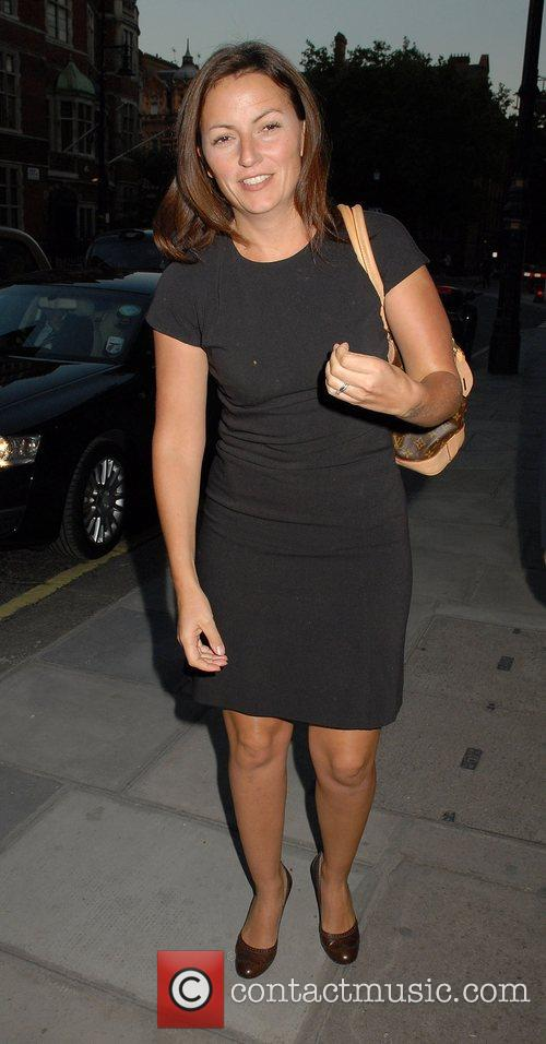 Davina McCall,  attend the exhibition of photographs...