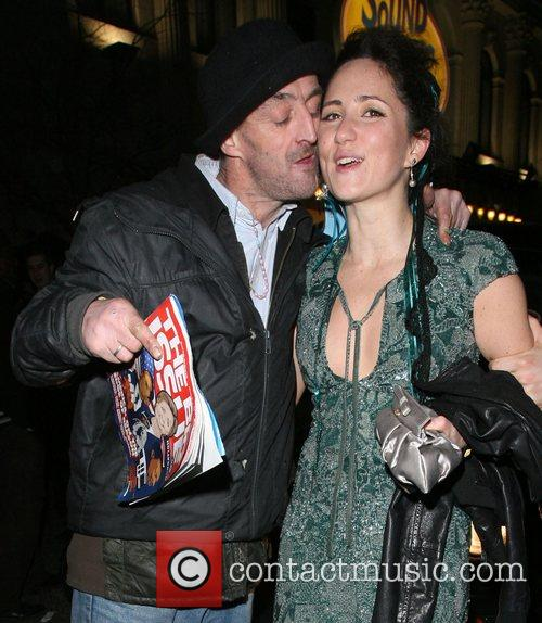 K.T. Tunstall leaving Movida nightclub. On her way...