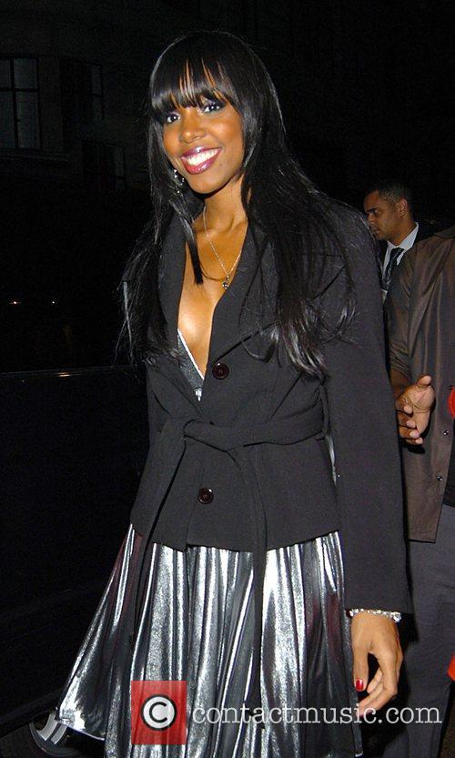 Kelly Rowland  outside Movida nightclub London, England