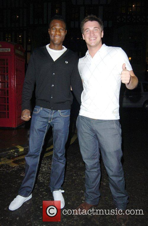 Big Brother 8 housemates Brian Belo and Liam...