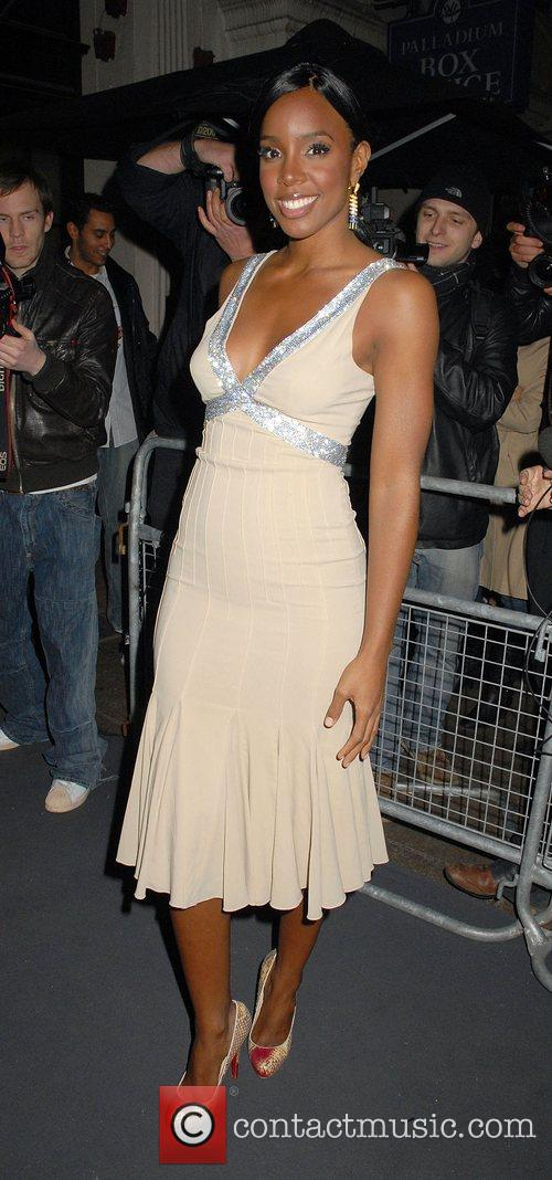 Kelly Rowland Attending a Brits after party at...