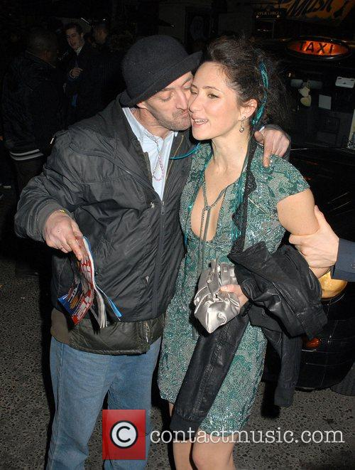 KT Tunstall Leaving Movida nightclub. On her way...