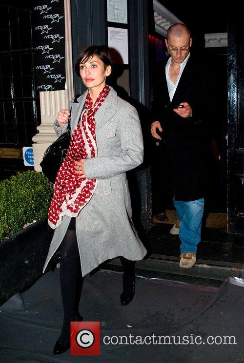 Natalie Imbruglia  leaving Movida London, England