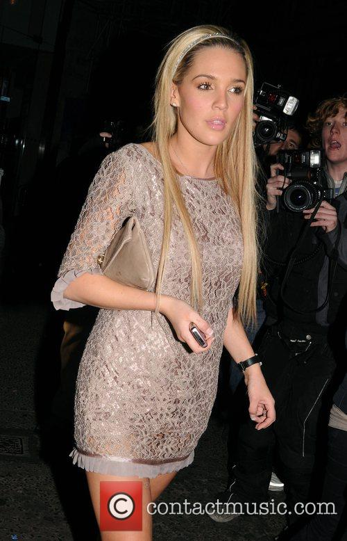Arriving at Movida nightclub