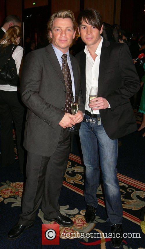 Andre Eisermann, Philipp Huber Berlinale party Movie meets...