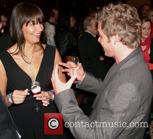 Franziska van Almsick, Oliver Geissen Berlinale party Movie...