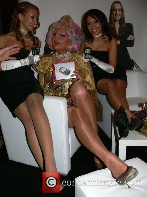 Olivia Jones, models Berlinale party Movie meets Media...