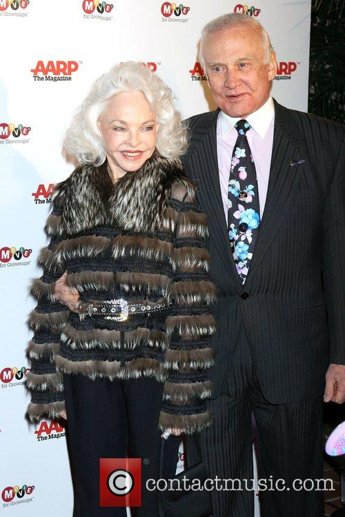 Buzz Aldrin and Wife Lois 4