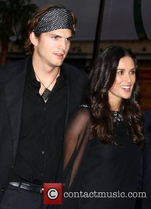 Ashton Kutcher and Demi Moore 'Mr. Brooks' premiere...