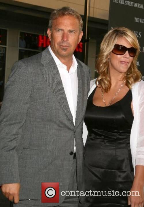 Kevin Costner and wife Christine Baumgartner 'Mr. Brooks'...