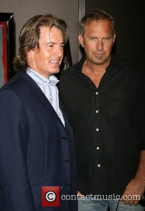 Kyle MacLachlan and Kevin Costner New York pre-screening...