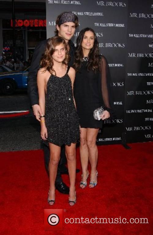 Demi Moore, Ashton Kutcher & daughter Tallulah Belle...