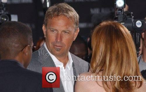 Kevin Costner & wife Christine Baumgartner