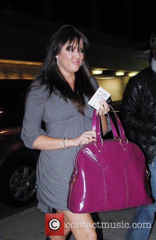 Khloe Kardashian arriving at Mr Chow