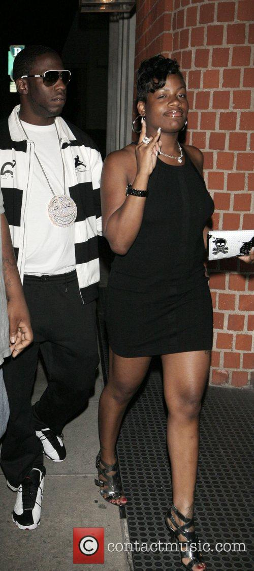Fantasia Barrino and her boyfreind at Mr Chow...