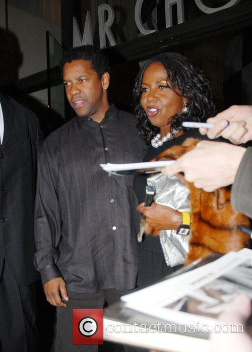 Denzel Washington and Pauletta Washington 4