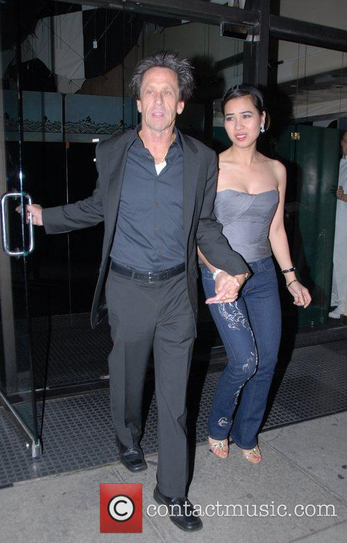 Guests leaving Mr Chow restaurant Los Angeles, California