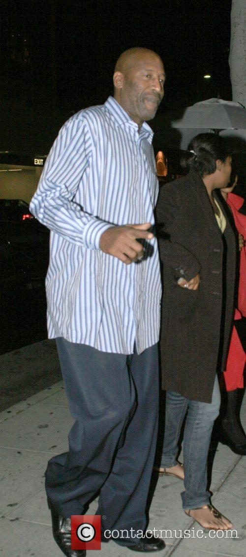 James Worthy Arrives at Mr Chow restaurant. Beverly...