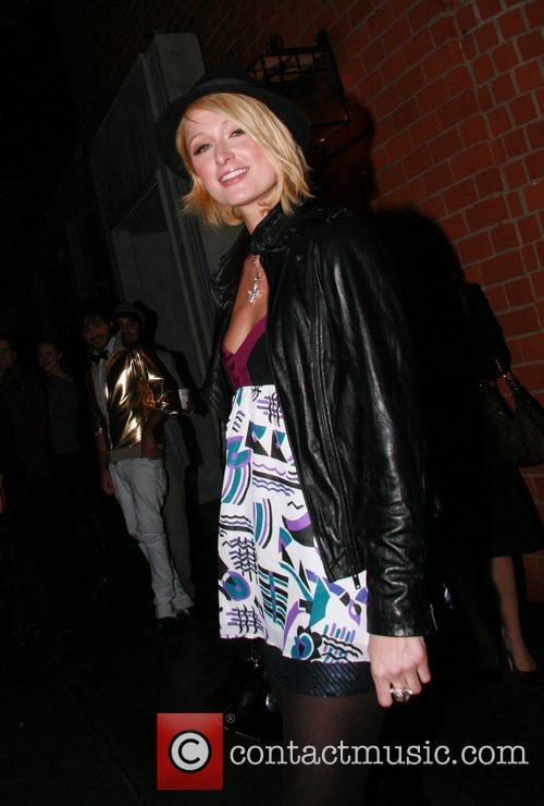 Paris Hilton leaving Mr Chow restaurant Beverly Hills,...