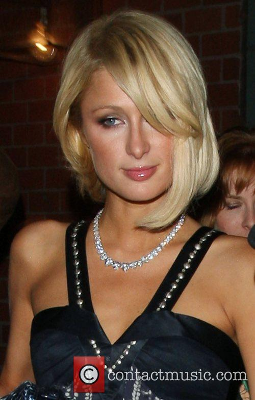 Paris Hilton  leaving Mr Chow after enjoying...