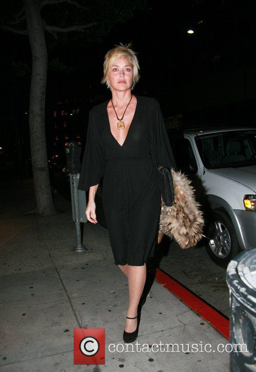 Arriving at Mr Chow restaurant