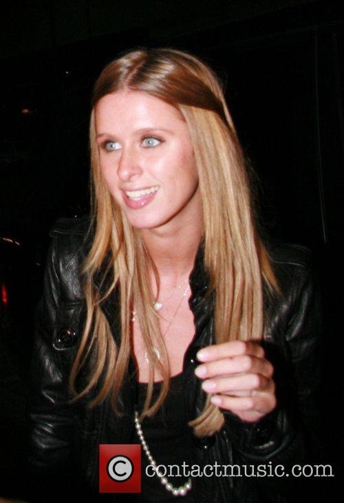 Nicky Hilton arriving at Mr Chow restaurant Beverly...