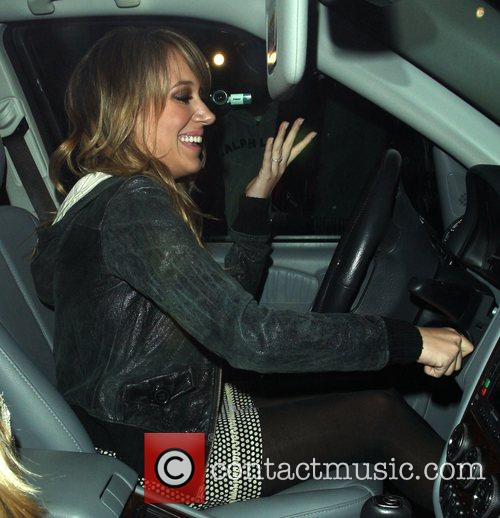 Haylie Duff leaving Mr Chows