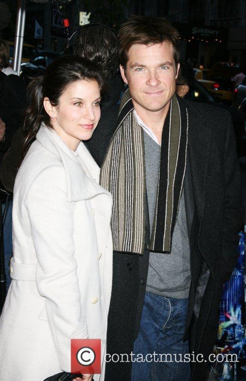 Amanda Anka and Jason Bateman World premiere of...