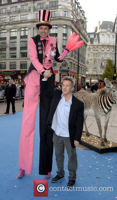 Dustin Hoffman  UK film premiere of 'Mr...