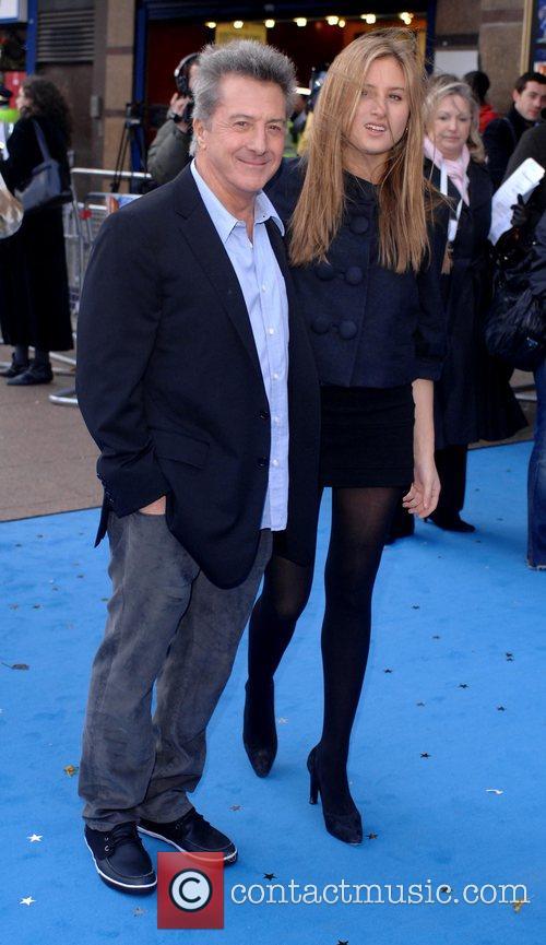 Dustin Hoffman and daughter Alexandra Hoffman UK film...