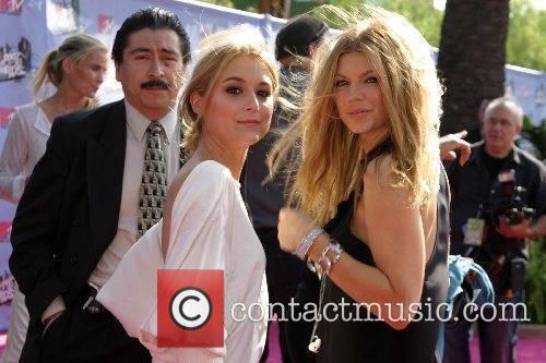 Alexa Vega and Fergie MTV Movie Awards 2007...