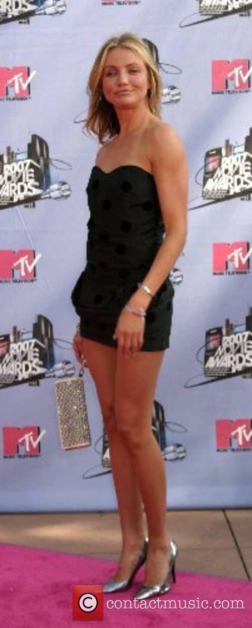 Cameron Diaz  MTV Movie Awards 2007 at...