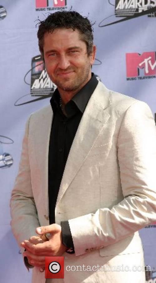 Gerard Butler MTV Movie Awards 2007 at the...